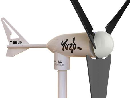 Buenas noticias!¡Australia es el primer cliente en utilizar nuestro nuevo producto YUZO Wind Turbine