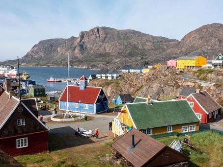 Upeita uutisia: Grönlanti, Sisimiut on Tesup-asiakas!