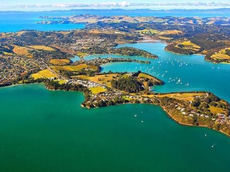 TESUP-tuuliturbiini antaa energian kauniille Waiheke-saarelle Uudessa-Seelannissa!
