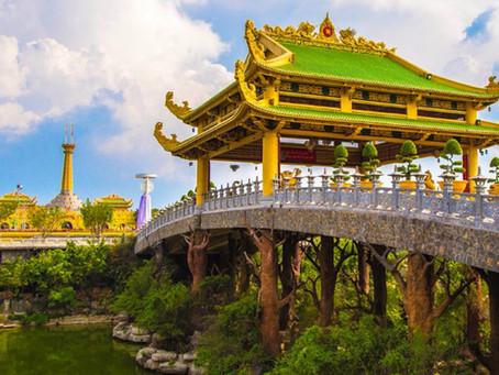 TESUP vindturbin drar til landet til mytiske drager Vietnam!