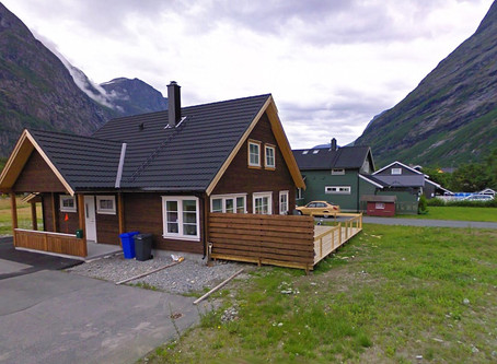The cozy house in the Norwegian province Sunndalsøra, will be charged by TESUP Wind Turbine!
