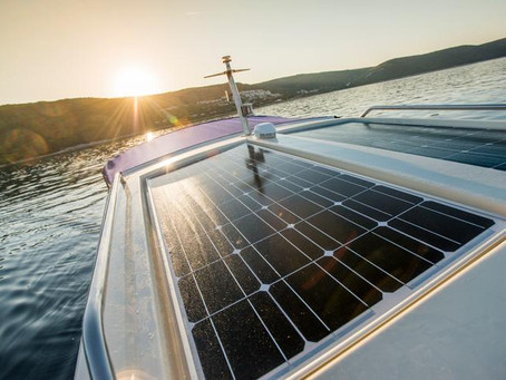 Tesup Flexible Solar Panel is a perfect solution for your boat !