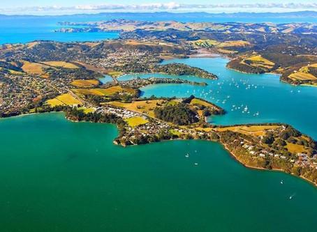 TESUP vindturbin vil stimulere den vakre Waiheke Island i New Zealand!