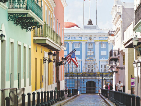 Porto Riko'nun başkenti San Juan'a seyahat eden TESUP rüzgar türbini :)