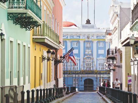 TESUP vindturbin som reiser til San Juan, Puerto Rico hovedstad :)