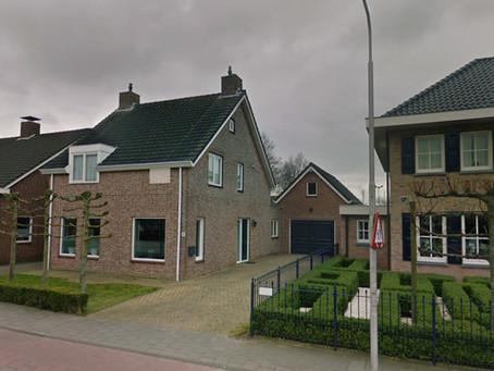 Cette jolie maison dans le village néerlandais de Kruisland sera facturée par TESUP Wind Turbine!