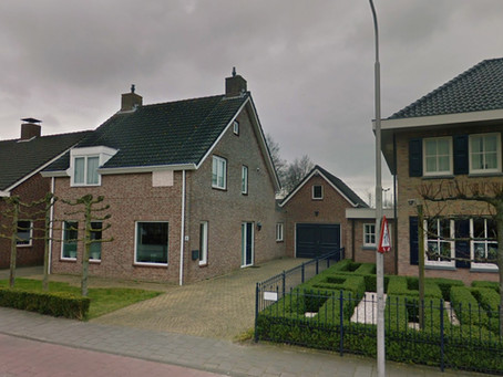 Esta linda casa na vila holandesa de Kruisland será cobrada pela Turbina Eólica TESUP Zeus 3.0!