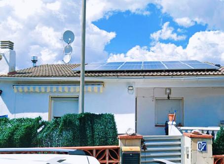 Med TESUP-turbinen vil dette vakre hjemmet i det solfylte Spania være fulladet!