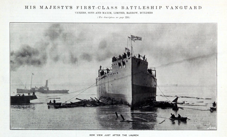 Vanguard just after launch
