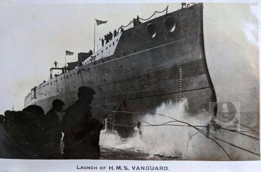 Vanguard launching (W Sadler Collection)
