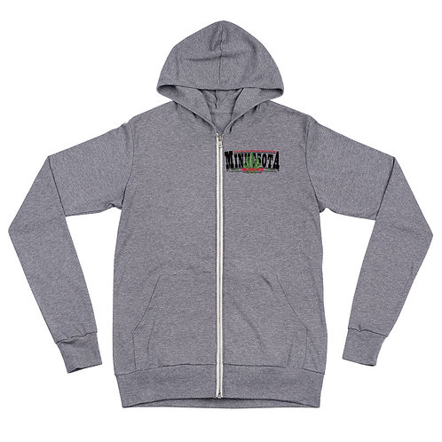 Minnesota 420 Unisex zip hoodie