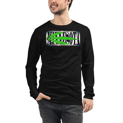 Minnesota Marijuana Unisex Long Sleeve Tee
