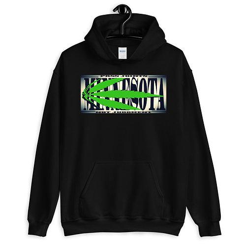 Minnesota Marijuana Unisex Hoodie