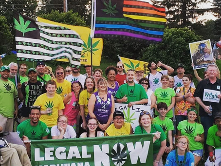 Legal Marijuana Now hits the state parade's in 2018