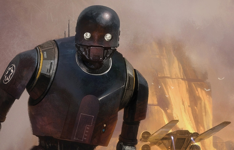 Alan Tudyk's voice acting as K-2SO was a highlight of the film