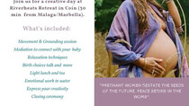Half-Day pregnancy retreat at Riverhearts May the 5th 2019.