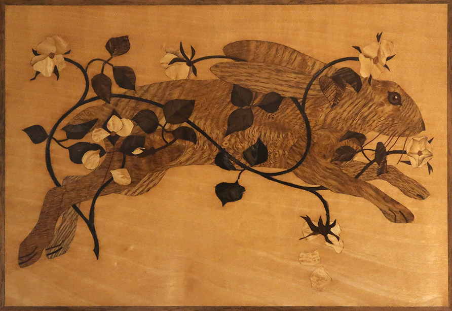 Marquetry Hare