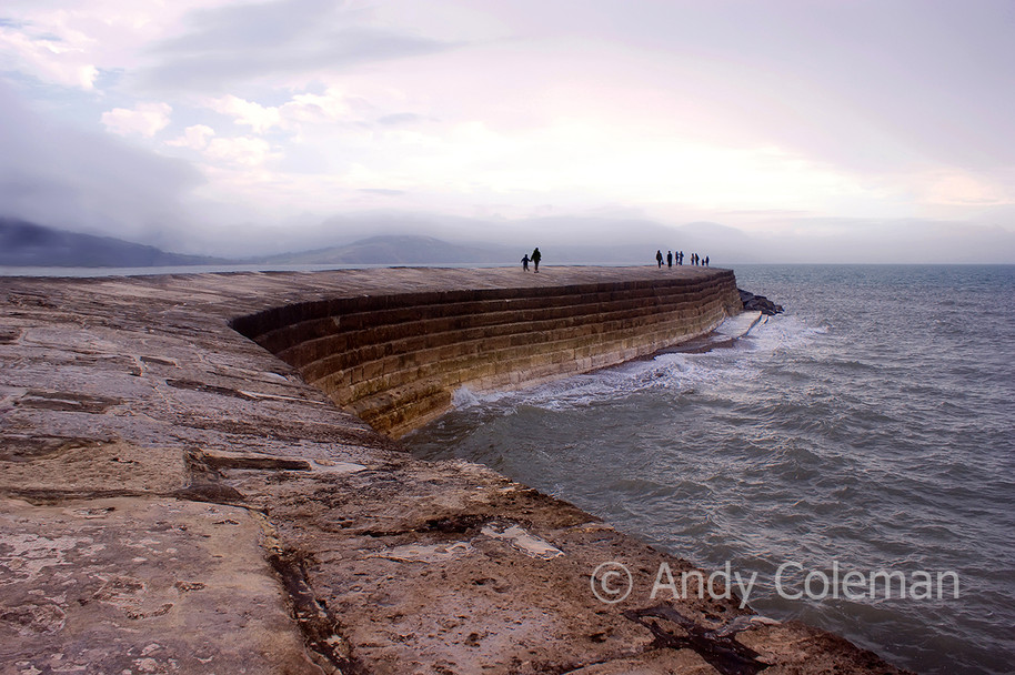The Cobb, in the west country county of Dorset is a world famous landmark, situated at Lyme Regis
