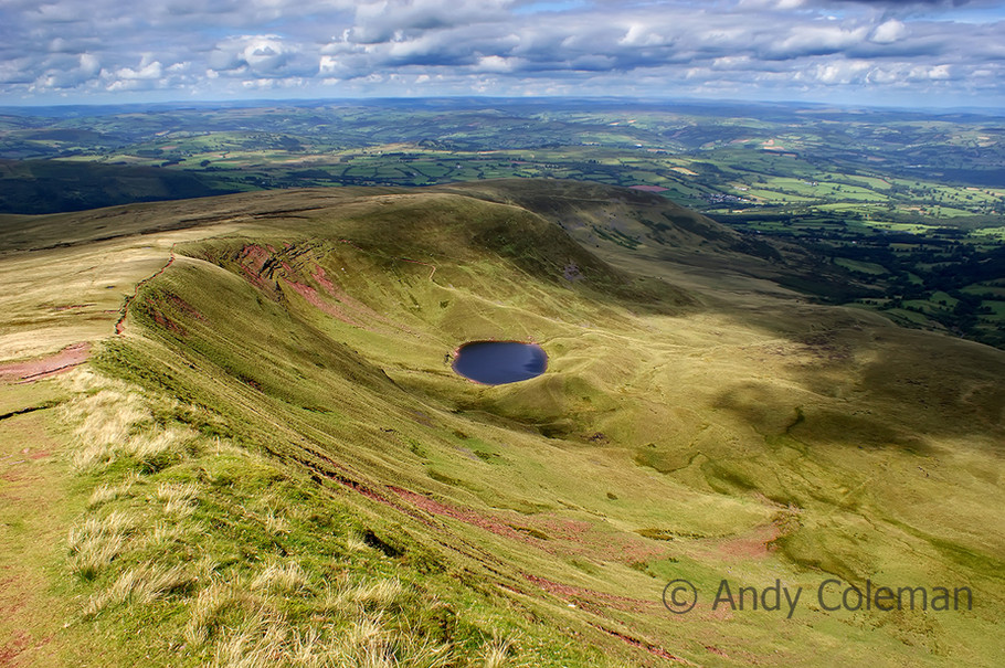 A Tarn near to Corn Du in the Brecon Beacons National Park Wales
