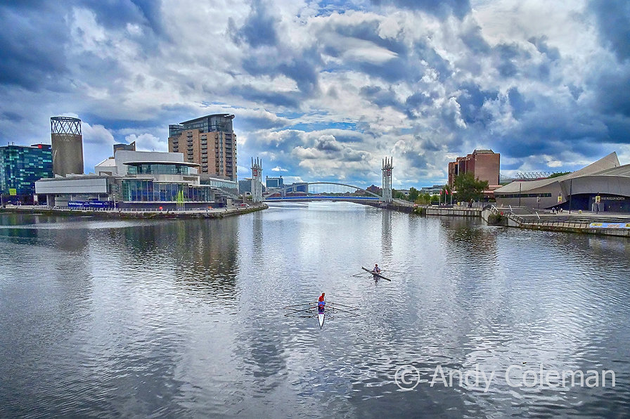 Media City at Salford Quays in Manchester