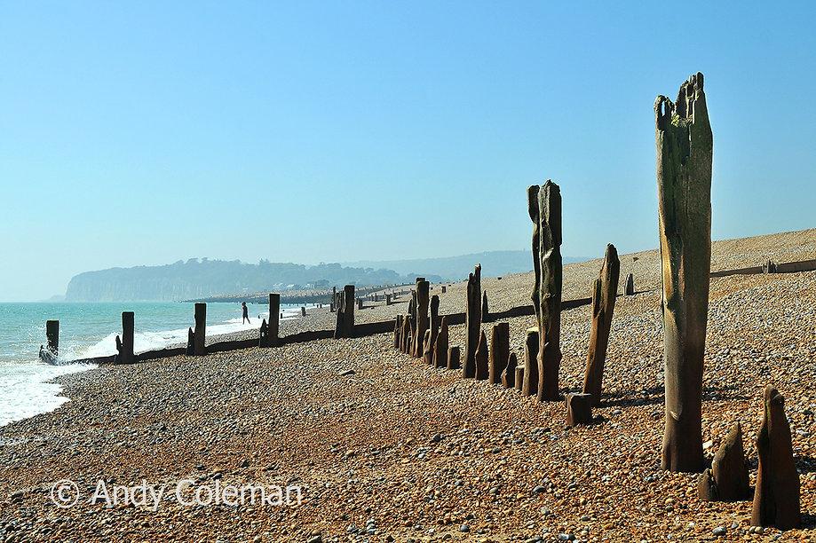Winchelsea Beach Old wooden Sea Defences