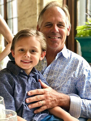 Eric Ford, Business Owner, with grandson