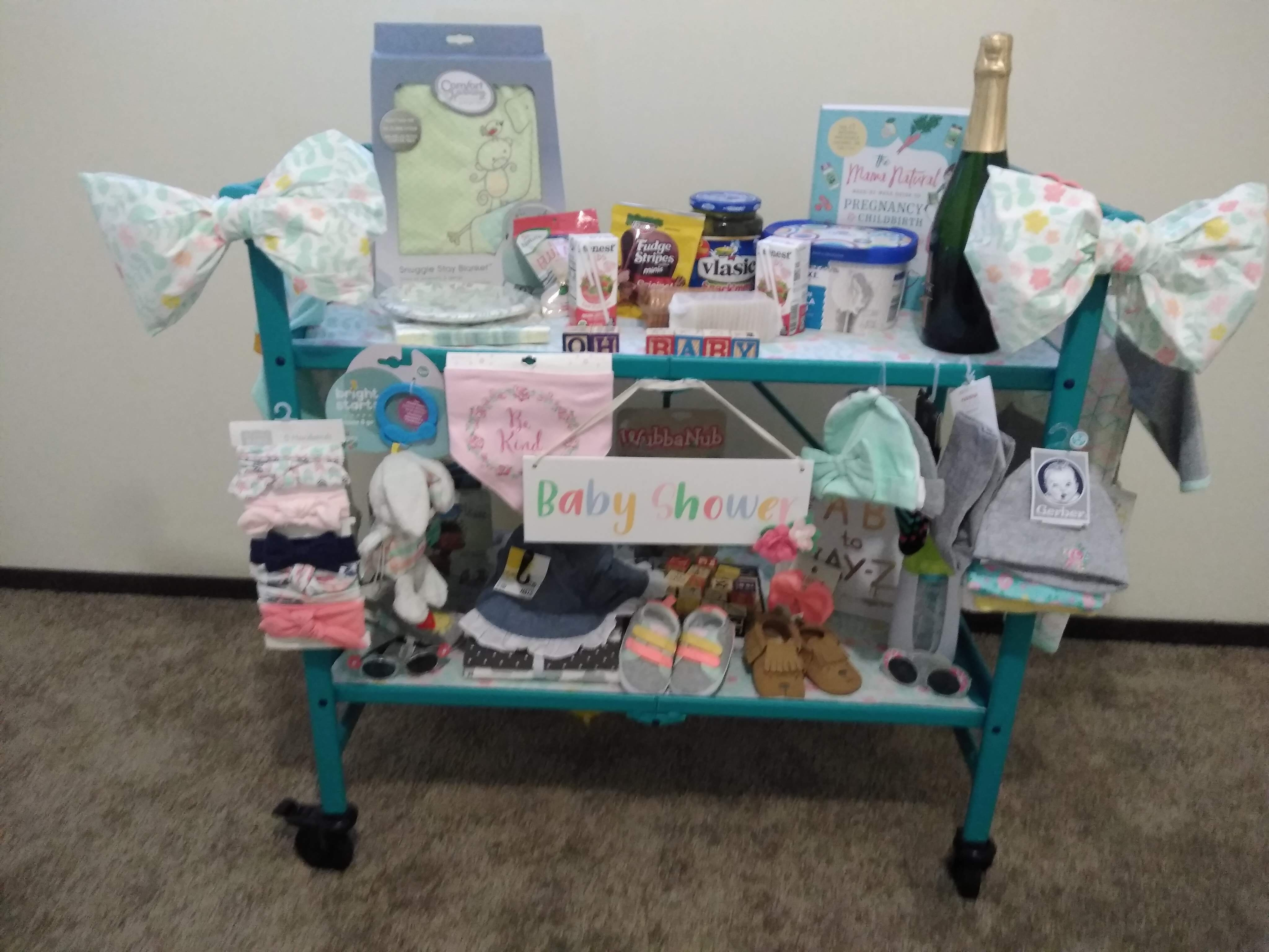 Baby Shower Cart