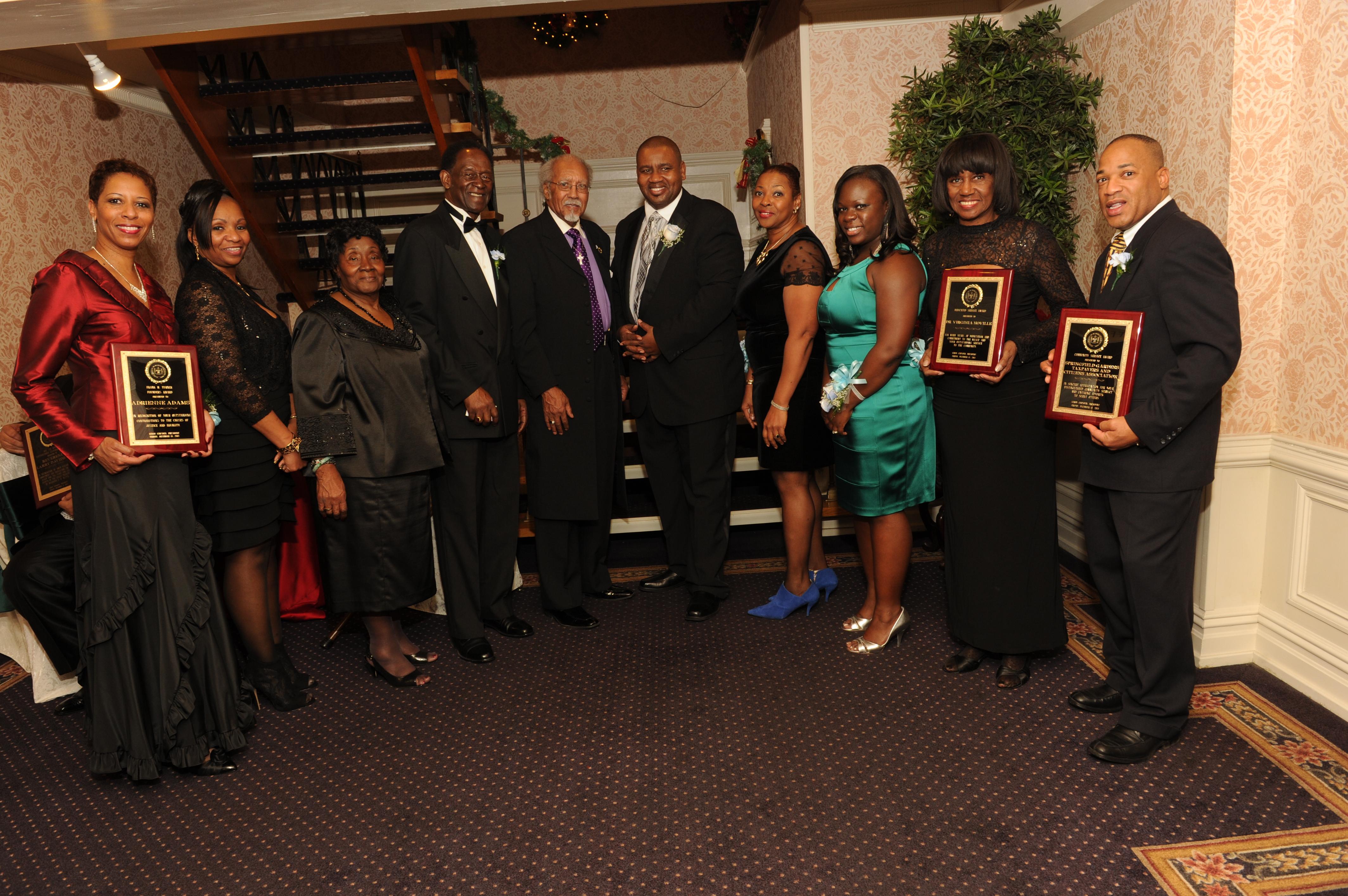 2013 Dinner Dance Honorees