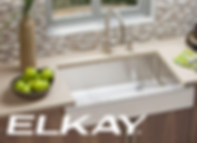 Elkay kitchen sink and faucet