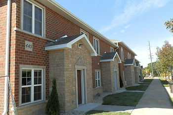 townhouse apartmets in De Pere, Wisconsin