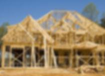 Framed residential home