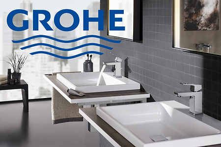Grohe luxury bathroom sinks and faucets