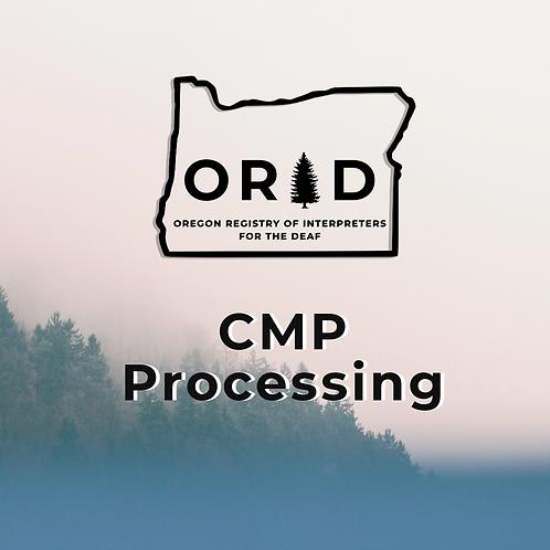CMP Processing