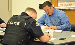 first responders, resilince, police, workshop