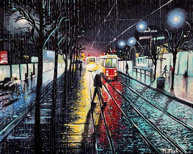Night City Rain #2