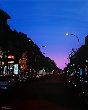 Sunset City Stroll