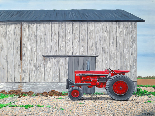The Old Tractor