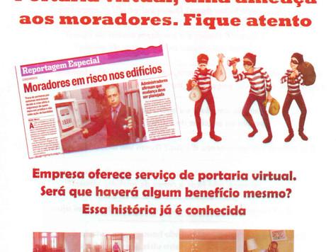 Portaria Virtual, uma ameaça aos moradores. Fique ligado!