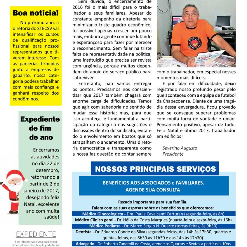 Informativo Dezembro 2016