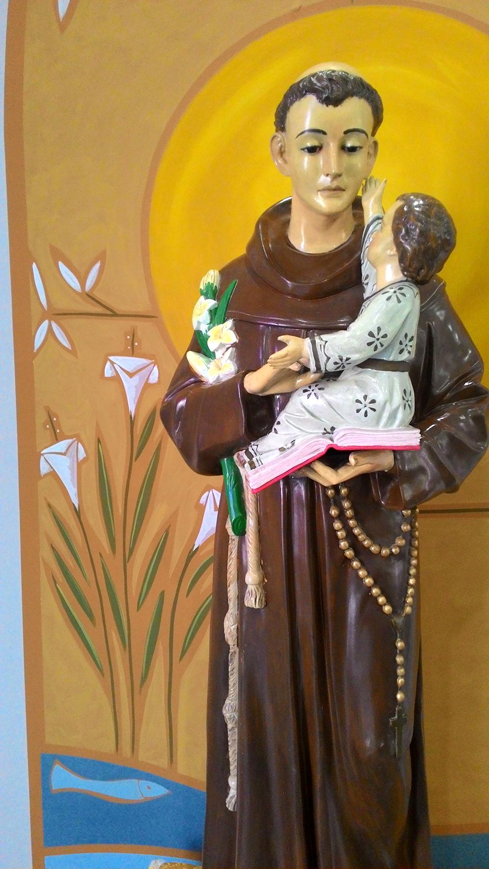 Painel fundo Santo Antônio