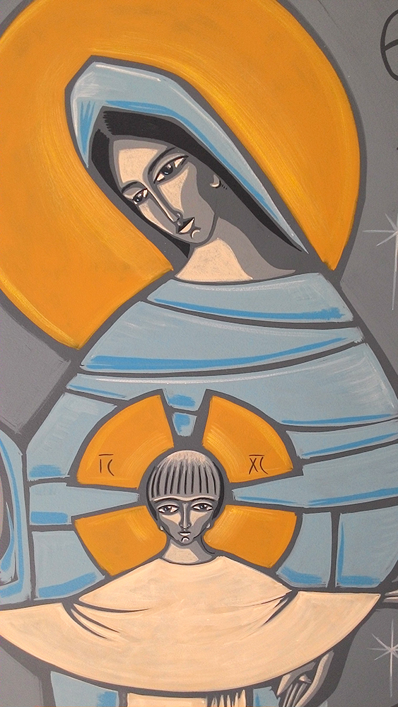 Mãe de Deus - detalhe