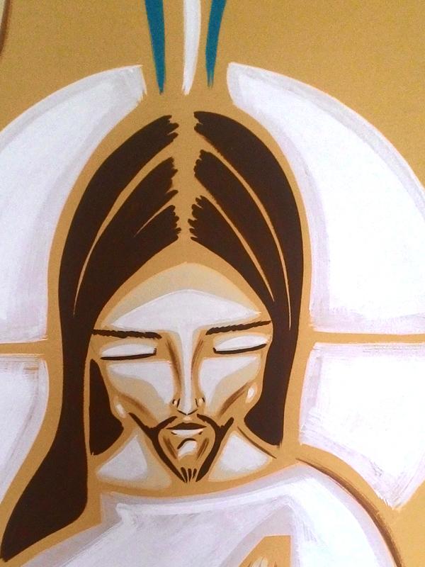 Painel batismo - detalhe