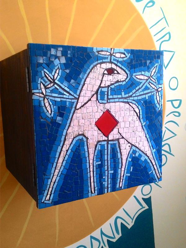 Sacrário - mosaico