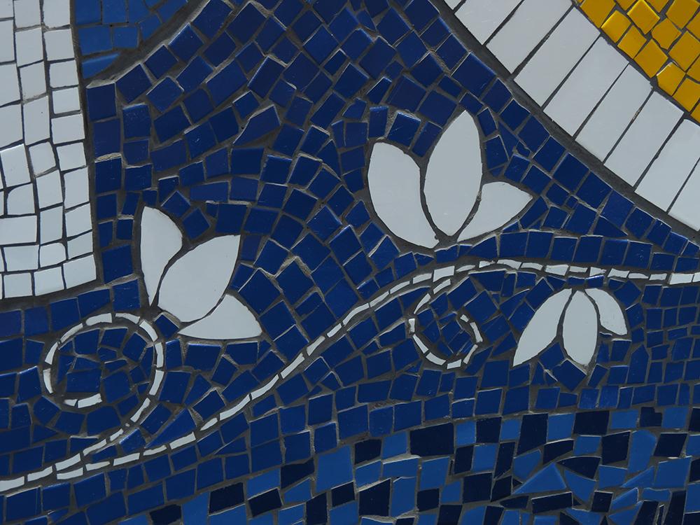 Mosaico - detalhe