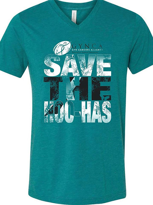 Teal Save The HooHas X-SMALL