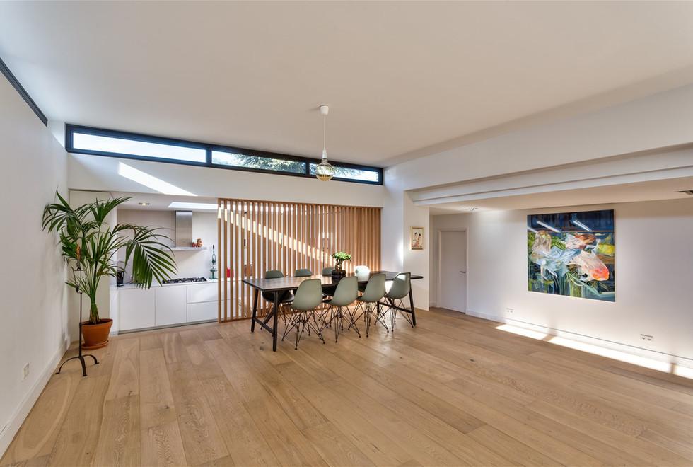 Complete villa interieur