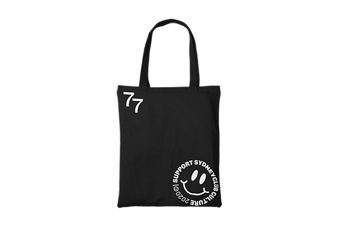 Support Club Culture Cotton Tote Bag