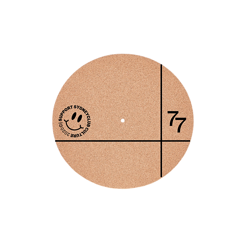 Support Club Culture 2mm Cork Slipmat