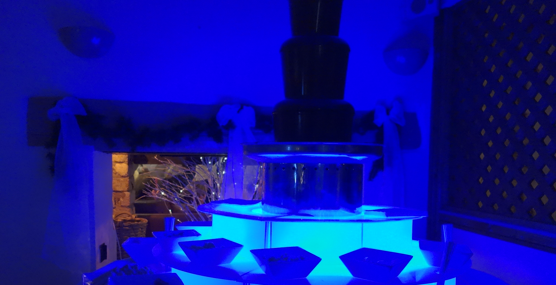 Illuminated Chocolate Fountain