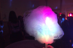 Glowing Candy Floss